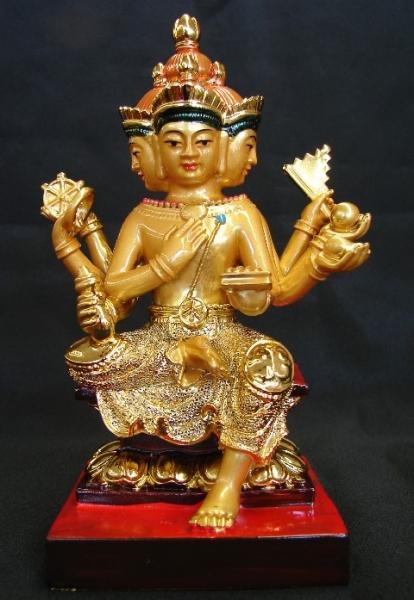 4 Face Buddha Statue Indian Buddha