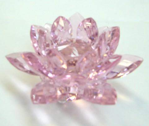 Rose Crystal Lotus Pink Lotus Crystal For Love