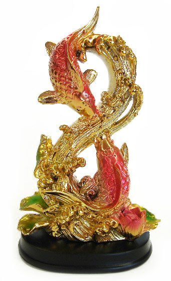 Symbolism Of Double Two Golden Fishes In Feng Shui
