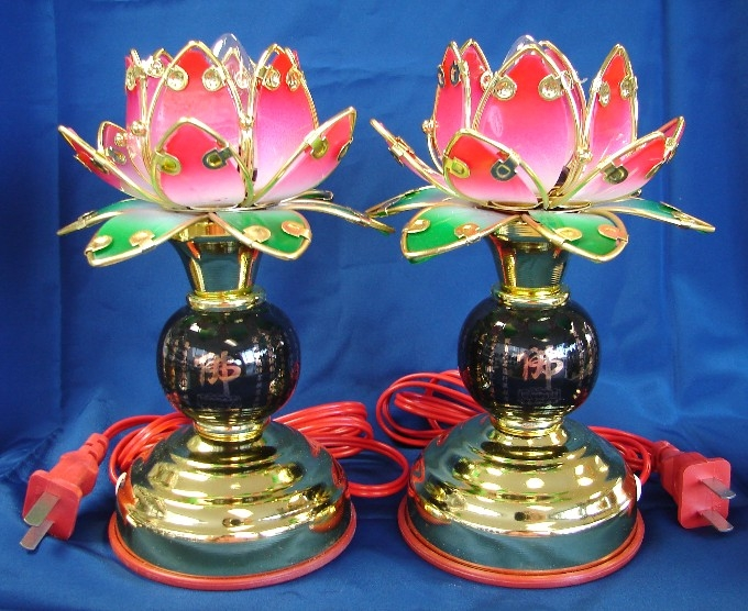 Buddha Lotus Light Lotus Lamp For Buddha
