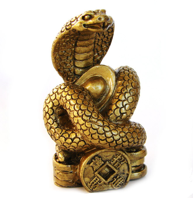 Bronze Snake Statue For Year Of The Snake 2013