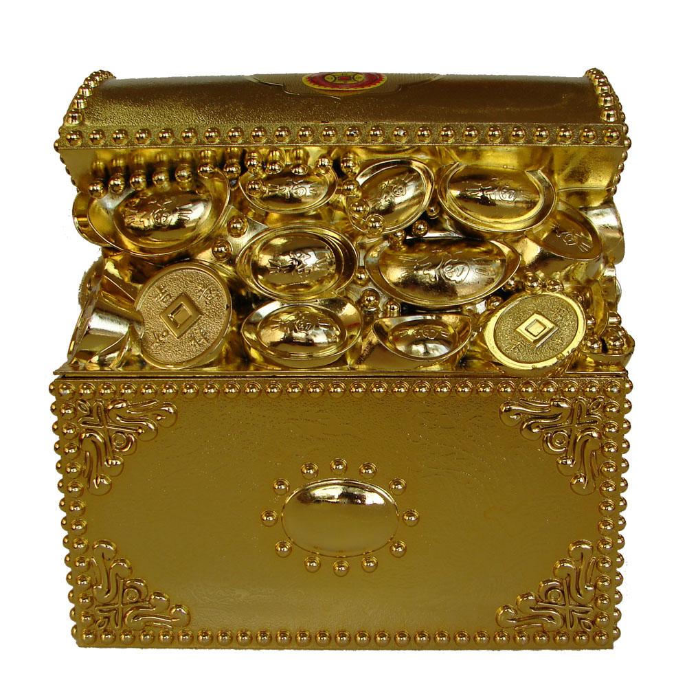 Feng shui treasure box for wealth - Wealth direction feng shui ...
