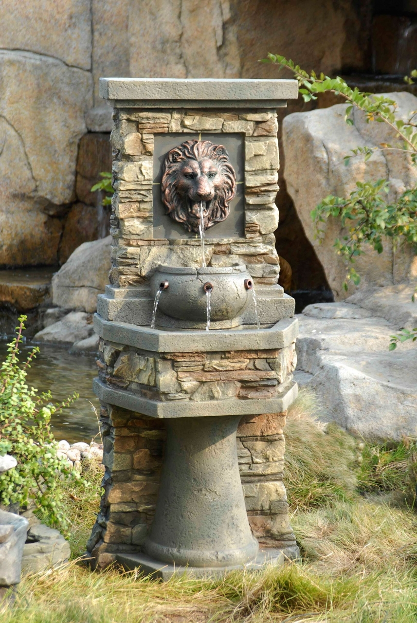 fountains water features ponds on pinterest wall. Black Bedroom Furniture Sets. Home Design Ideas