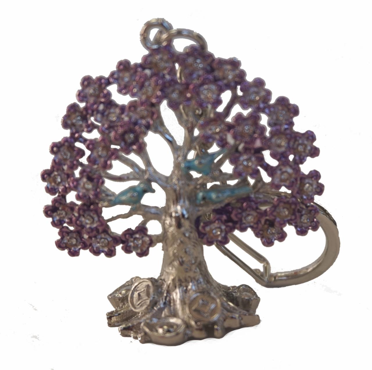 Ngan Chi Wealth Tree Keychain Amulet