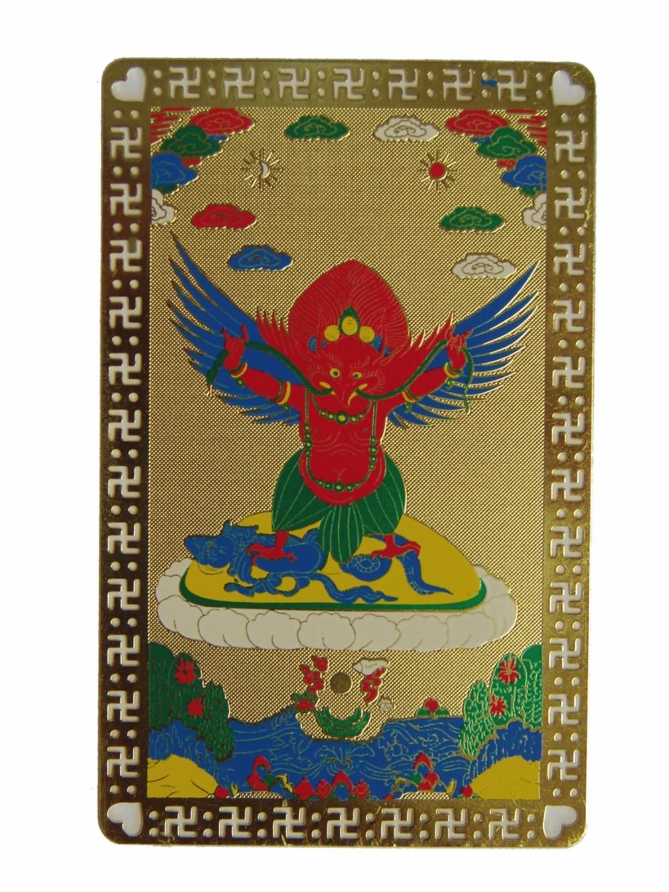 Ox-bone carved kwan-yin buddhisattva head amulet pendant image 1