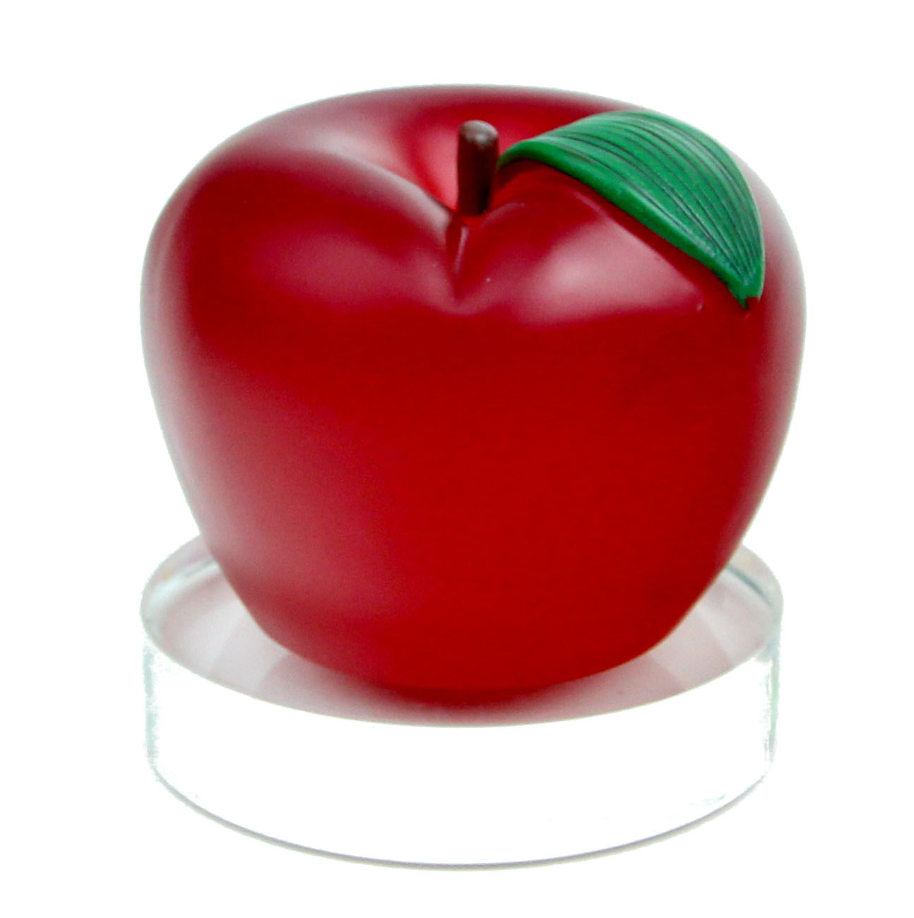 Feng Shui Red Apple With Peace Symbol