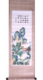 Hand Painted Wall Scrolls