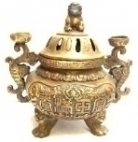 Solid Brass Incense Burner