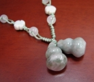 Jade Wu Lou Necklace