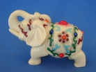 Ivory Elephant Figurines