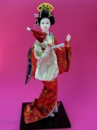 Japanese Doll with Umbrella