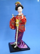 Japanese Doll with Flute