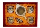 Tea Sets with Dragon Pictures