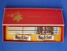 Chinese Dragon Porcelain Chopsticks