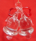 10 of Glass Twin Bells