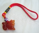 Red Jade Pi Yao Charms