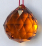 Orange Crystal Balls