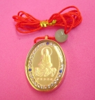 Golden Kuan Yin  Pendants