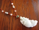 Dragon Fish Jade Necklaces
