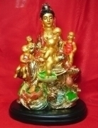 Kuan Yin Bringing Children