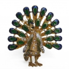 Bejeweled Peacock