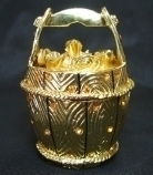 Bejeweled Golden Bucket