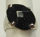 Blue Goldstone Fashion Men Rings