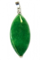 Leaf Shaped Jade Pendant