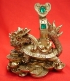 Dragon Tortoise with Ru Yi