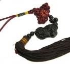 Black Obsidian Pi Yao Charm