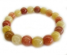 Multi-Color Stone Beaded Bracelet