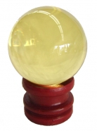 Yellow Crystal Ball