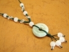 Jade Coin Necklace