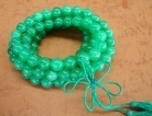 Jade Mala Bead Necklace