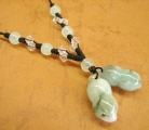 Jade Peanut Necklace