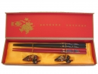 Chinese Chopstick Gift Set with Dragon Pictures