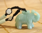 Jade Elephant Necklace
