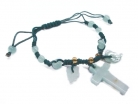 Jade Cross Bracelet