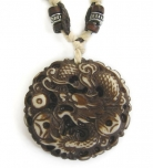 Tibetan Dragon Necklace