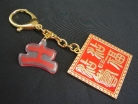 Earth Seal Amulet Keychain