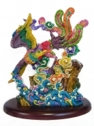 Colorful Phoenix Statue