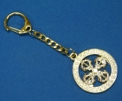 Cross Vajra Key Chain