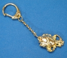 Golden Fish Key Chain