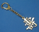 Longevity Sign Key Chain