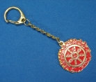 Magic Fire Wheel Key Chain