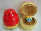 2 of Fruit-Shape Bamboo Toys