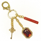 Red Om Mani Amulet