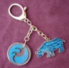 Blue Rhino Amulet