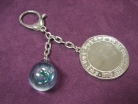 Water Crystal and Mantra Mirror Talisman
