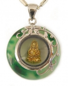 Jade Pendant with Kuan Yin Inside
